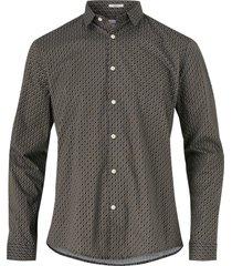 skjorta dotted print shirt l/s