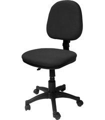 silla oficina lizza media negra   ref: 2023- sin brazos