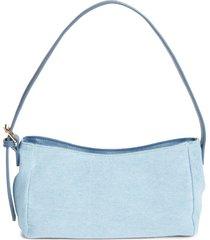 bp. shoulder baguette bag in light blue at nordstrom