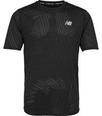 mt11278 t-shirts short-sleeved svart new balance