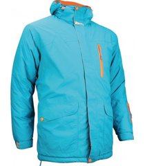 starling ski jas men aqua grijs oranje-xl