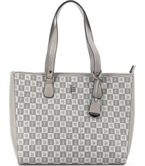 london fog women's millana signature tote