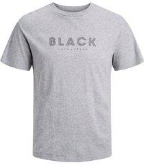 t-shirt jprblaclean tee ss crew neck