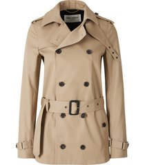 jas short double breasted trench