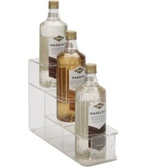 mind reader 3 compartment clear syrup bottle organizer