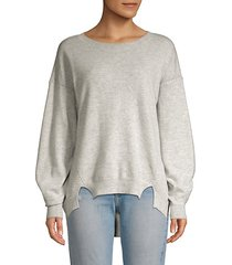 kyran bishop-sleeve wool sweater