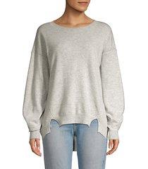 kyran bishop-sleeve wool sweater