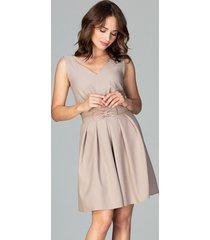 sukienka rozkloszowana mini