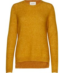brook knit new o-neck gebreide trui geel second female
