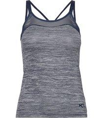 kine top t-shirts & tops sleeveless blå kari traa