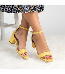 sandalias planas flor mujer