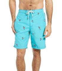 men's tommy bahama baja on the house board shorts, size xx-large - blue