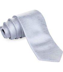 gravata pierre cardin tradicional prata glamor