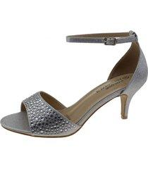 sandalia plata via franca