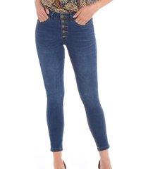 jeans botones azul bunnys