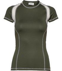 emma t-shirt t-shirts & tops short-sleeved groen wood wood