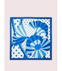 kate spade new york geo bloom square scarf