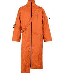 a-cold-wall* strap detail coat - orange
