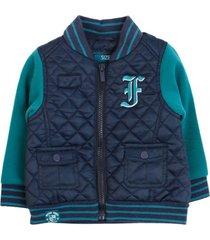 chaqueta retro vibes azul ficcus