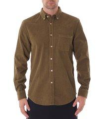 lobo cord shirt - olive aw19069-olv
