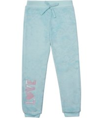 epic threads little girls tie waist minky jogger