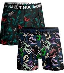 muchachomalo 2 stuks cotton stretch women boxer