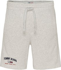 tommy jeans short - modern fit - grijs