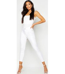 all sizes collection high waist jegging, white