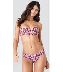j&k swim x na-kd plain bikini briefs - pink