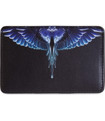 marcelo burlon county of milan wings card holder