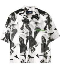 abstract boxy shirt
