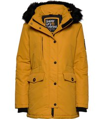 ashley everest parka parka lange jas jas geel superdry