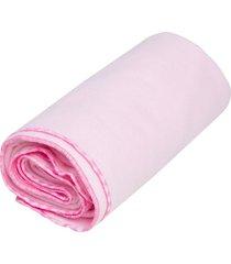 cobertor papi liso rosa - kanui