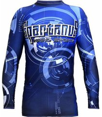 camiseta spartanus fightwear rash guard robotic