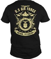 us air force aim high flyflightwin t-shirt