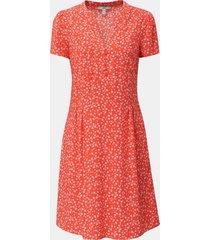 vestido estampado en lenzing ecovero coral esprit