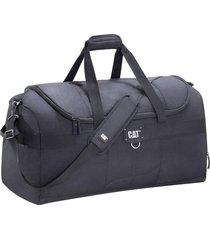 bolso negro cat millennial cargo duffel medium