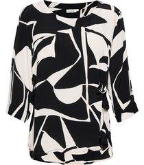 britt blouses short-sleeved svart masai