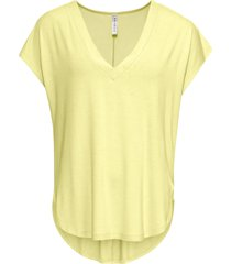 maglia oversize (giallo) - rainbow