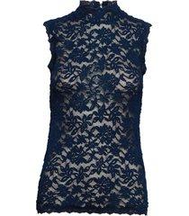 top t-shirts & tops sleeveless blå rosemunde