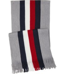tommy hilfiger men's striped scarf