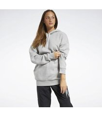 sweater reebok sport myt fleece oversized hoodie
