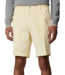 boss men's slice light pastel yellow shorts