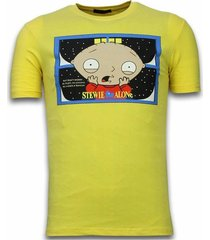 stewie home alone - t-shirt
