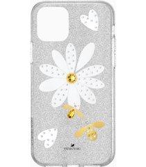 custodia per smartphone con bordi protettivi eternal flower, iphoneâ® 11 pro, multicolore chiaro