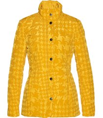 giacca trapuntata con stampa vellutata (giallo) - bpc selection