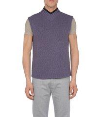 cruciani sweater vests
