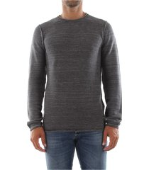 premium by jack&jones 12142640 bale knitwear men dark grey melange