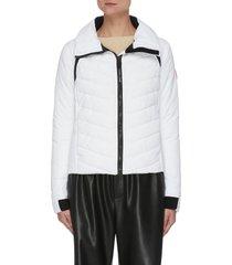 hybridge base' lightweight quilted down jacket