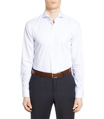 men's boss slim fit soft line stripe dress shirt